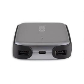 Baterie solara portabila USB V50, 12,800mAh pentru dispozitive electronice pret ieftin 3