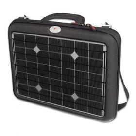 Geanta fotovoltaica cu incarcator solar Generator pentru laptop, MacBook, smartphone si tableta cu acumulator pret ieftin
