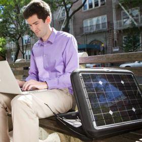 Geanta fotovoltaica cu incarcator solar Generator pentru laptop, MacBook, smartphone si tableta cu acumulator pret ieftin 6