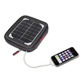 Geanta solara cu panou fotovoltaic Amp Solar cu baterie inclusa 4000mAm rezistent la apa si UV pret ieftin 4