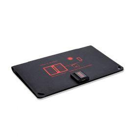 Incarcator solar fotovoltaic compact Arc 10W pentru smartphone si camera foto 4