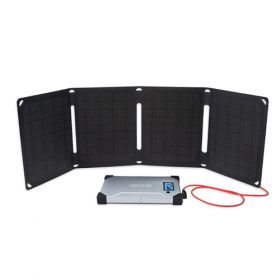 Kit fotovoltaic pentru calatorie cu incarcare solara Arc 20W pentru laptop, DSLR-uri si smartphone-uri pret ieftin