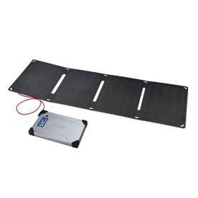 Kit fotovoltaic pentru calatorie cu incarcare solara Arc 20W pentru laptop, DSLR-uri si smartphone-uri pret ieftin 2