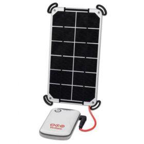 Kit panou fotovoltaic si baterie compact cu panou solar de 3.5W si baterie USB V15 4,000mAh pret ieftin