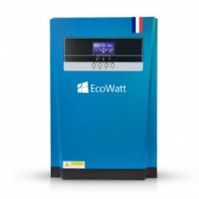 Kit solar pentru instalatiile fotovoltaice Off-Grid cu 14 panouri solare monocristaline 315W 24V, 8 baterii solare plumb-carbon 150 Ah 12V si un invertor hibrid MPPT 48V 100A pret ieftin 4