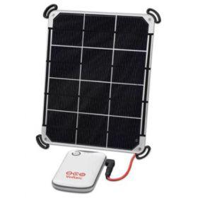 Panouri fotovoltaice cu baterii solare kit incarcator solar 6W cu baterie USB V15 pentru tablete si smartphone pret ieftin
