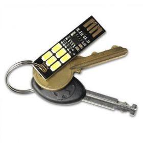 Set 4 USB Mini Light pentru orice tip de breloc compatibil cu acumulatorii solari V15 si V88 pret ieftin 3