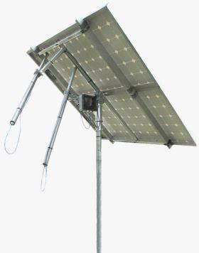 Tracker solar cu structura din profil cu dublu ax, tracker suport pentru panouri fotovoltaice, sisteme solare fotovoltaice