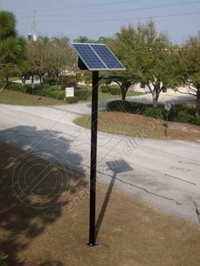 Stalp fotovoltaic de iluminat cu LED-uri PV-4M 6