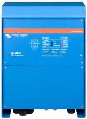 Sistem solar fotovoltaic hibrid monofazat 8KW-Hi-QVM 4