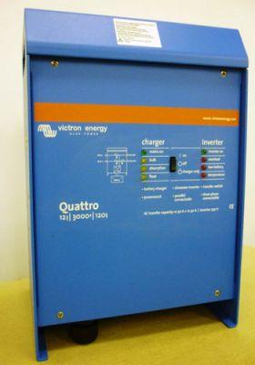 Invertor solar fotovoltaic Victron Quattro 24V 3000W 70-50-30