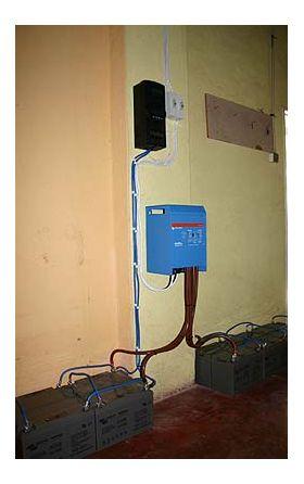 Sisteme solare back-up UPS cu acumulatori 3KW 6