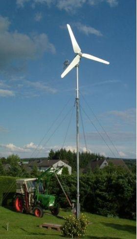 Centrale eoliene producatoare de energie, centrale eoliene cu invertor inclus,  centrale eoliene putin zgomotoase