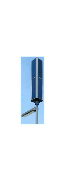 Panouri fotovoltaice pe stalpi solari de iluminat public, Stalpi fotovoltaici monocristalini